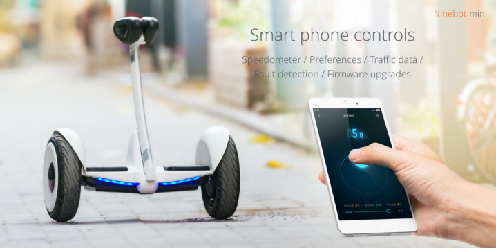 Xiaomi launches Ninebot Mini Segway for $315