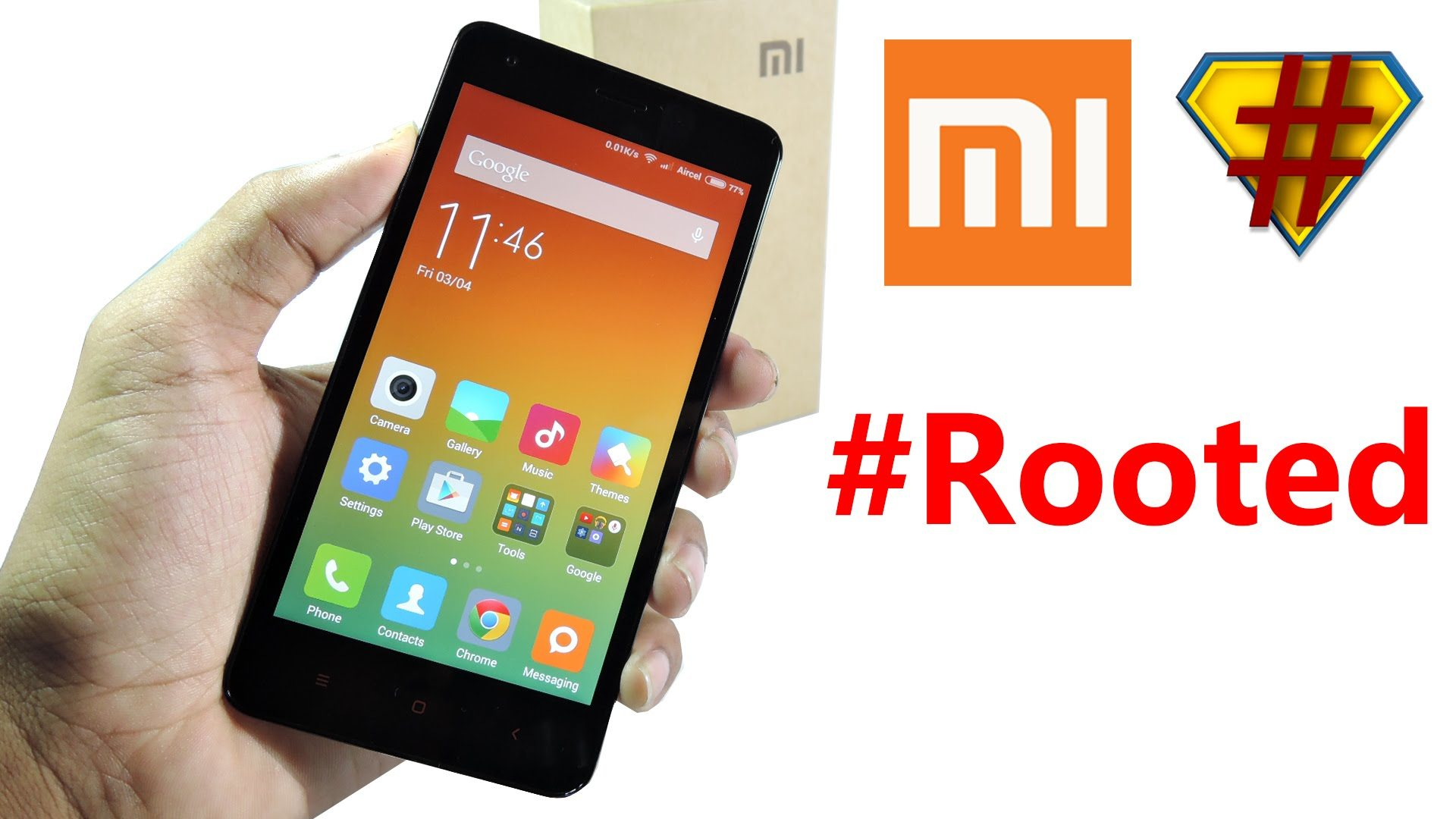 Rooted Xiaomi Device