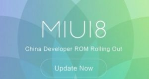 MIUI 8 China Developer ROM 6.8.11