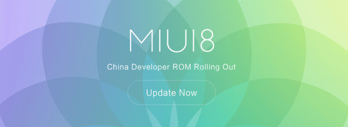MIUI 8 China Developer ROM