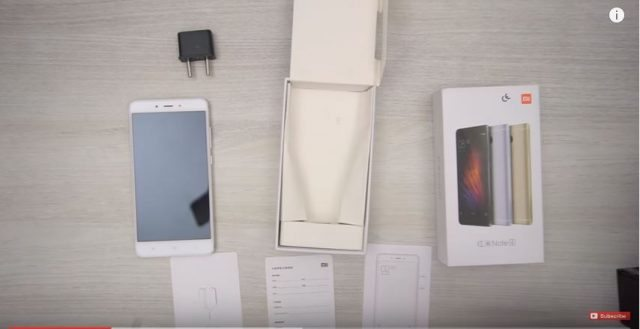 redmi note 4 unboxing video