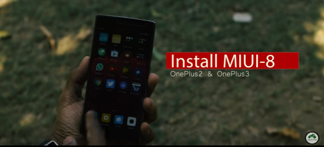 miui 8 for oneplus 2 and oneplus 3
