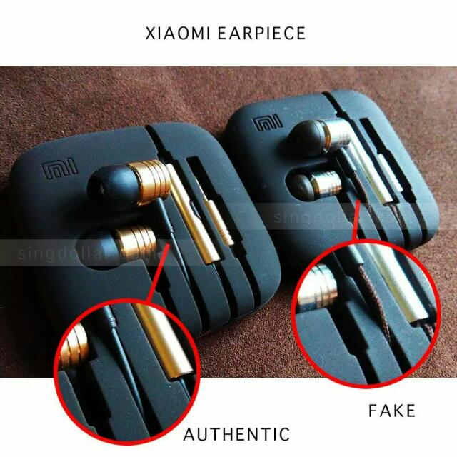 how to identify fake or genuine in ear headphone