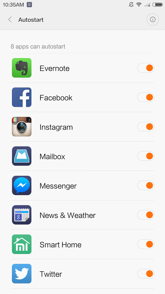 MIUI Tip: Enable autostart to never miss a notification again