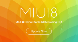 MIUI 8 China Stable ROM