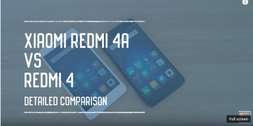 Redmi 4a vs Redmi 4