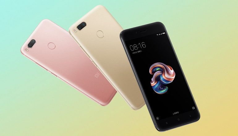 Xiaomi Mi 5X official photos