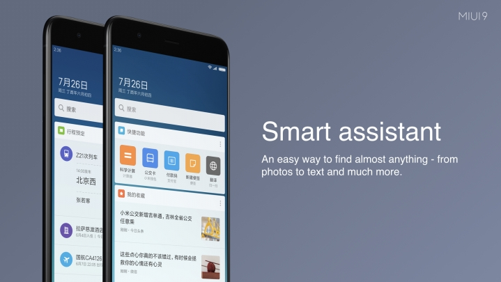 Top 10 highlights of MIUI 9