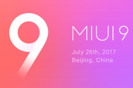 MIUI 9 previewed ahead of tomorrow launch