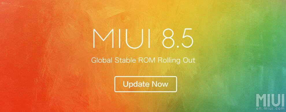 MIUI 8.5 Global Stable V8.5.6.0.MHOMIED