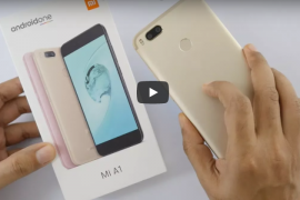 Mi A1 unboxing video