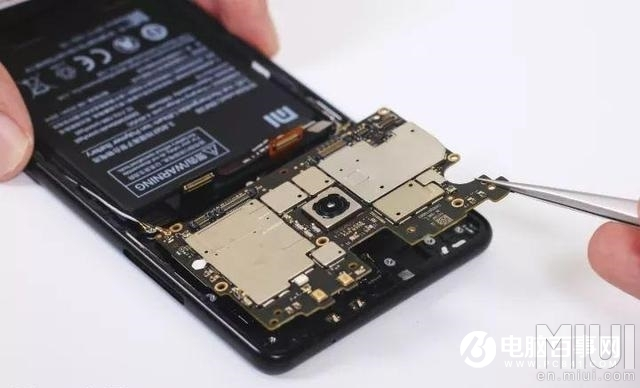 mi mix 2 teardown