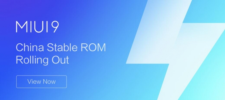MIUI 9 China Stable ROM V9.1.1.0.NAMCNE